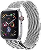 Luxe Milanese Loop Armband Voor Apple Watch Series 1/2/3/4/5/6/SE 42/44 mm Horloge Bandje - Metalen
