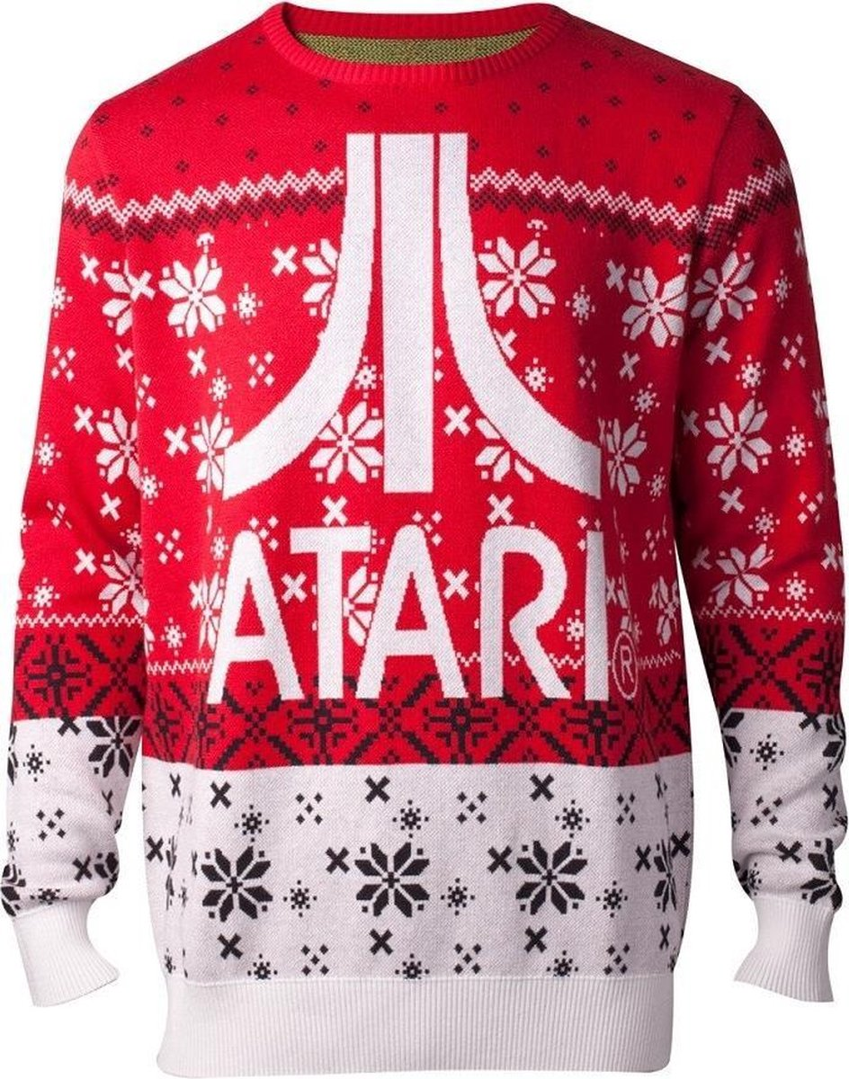 Difuzed Atari Kersttrui Maat S - Rood - Difuzed