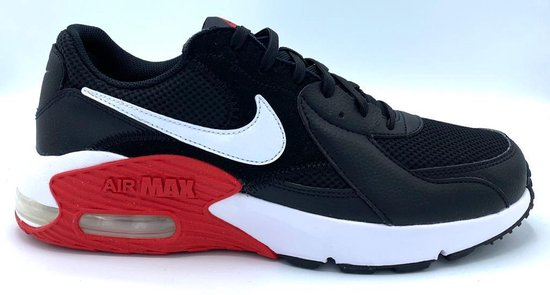 Nike Air Max Excee - Black/White/Red - Maat 42.5