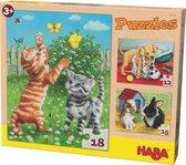 Haba - Puzzel - Huisdieren - 12/15/18 st.