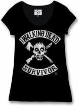 THE WALKING DEAD - T-Shirt Survivor - GIRL (L)