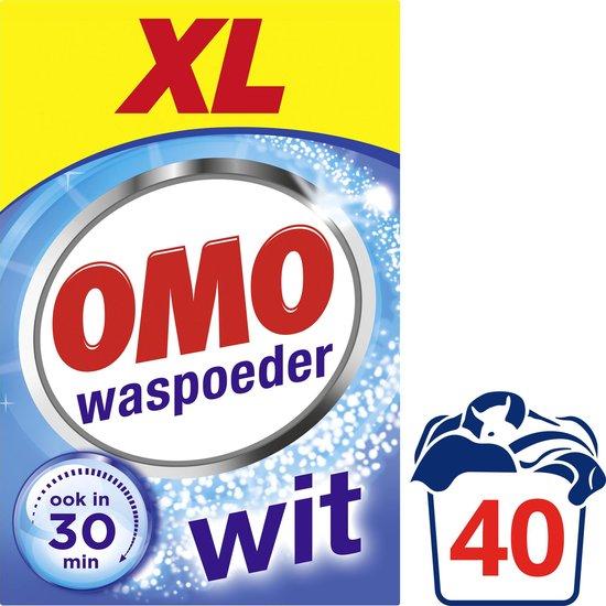 Omo Wit Waspoeder - 40 wasbeurten - Voordeelverpakking