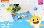 Baby shark puzzel 24 pieces groot
