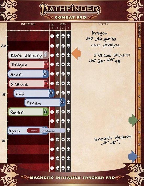 Afbeelding van het spel Pathfinder Combat Pad - EN
