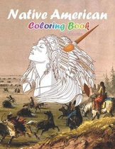Native American Coloring Book For Adults