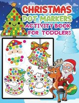 Christmas dot markers activity book for toddlers