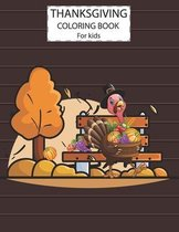 Thanksgiving Day Coloring Book For Kids