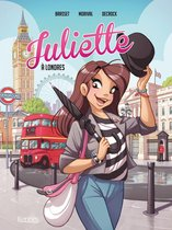 Omslag Juliette à Londres BD T03