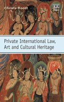 Omslag Private International Law, Art and Cultural Heritage