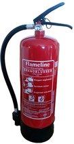 Schuimblusser AB Flameline 6 Liter, inclusief ophangbeugel en keuringssticker