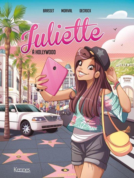 Omslag van Juliette à Hollywood BD T04