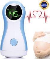 Doppler - Hartslagmeter voor Baby - Baby Hartje Monitor - Zwangerschap Cadeau - Fetal Doppler - Baby Care - YK90-C Model