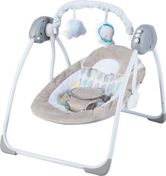 X Adventure Elektrische Babyschommel / Schommelstoel Baby Leaf