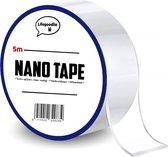 Nano tape 5 meter + Test strip || Hoge kwaliteit - Herbruikbaar - Magic gekko nanotape - Dubbelzijdige tape