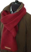 Bluvardi- Antipilling Fleece Sjaal - Rood