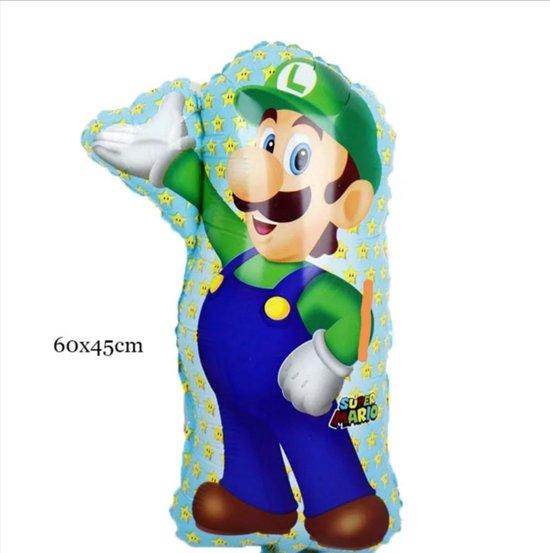 Luigi Feest Helium Ballon
