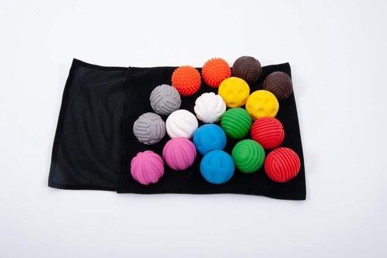 Afbeelding van het spel Tast-Memory met Ballen - Set van 18