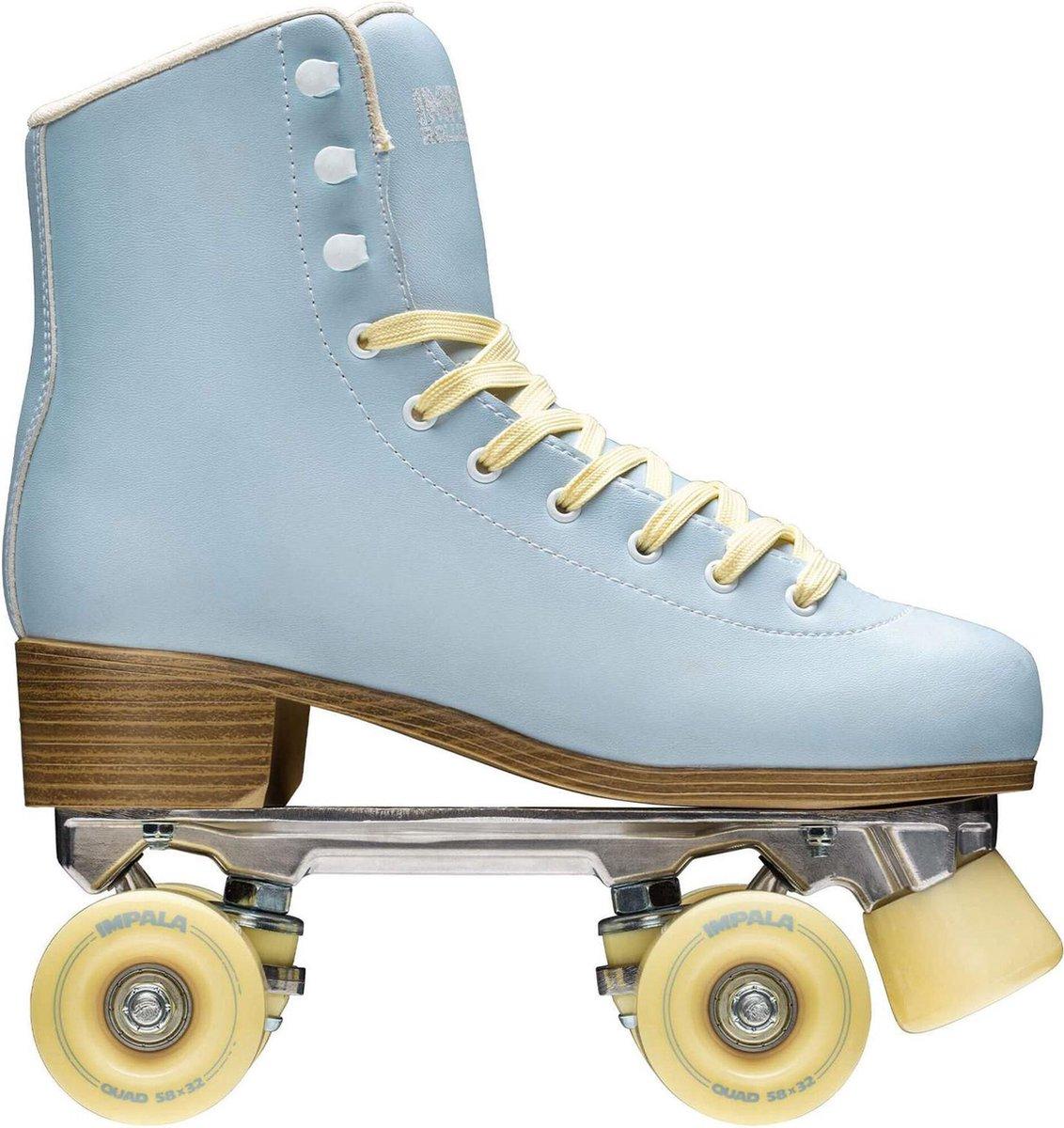 Impala Rolschaatsen - Maat 39Volwassenen - Licht blauw/geel