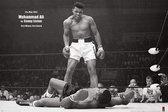 Muhammad Ali VS Liston Landscape Poster 91.5x61cm