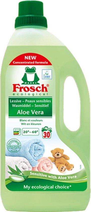 Frosch   Wasmiddel Aloe Vera  5 x 1500 ml