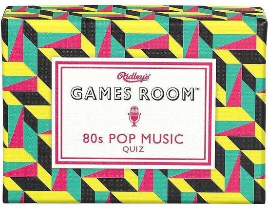 Afbeelding van het spel Trivia 'Pop Music 1980's'