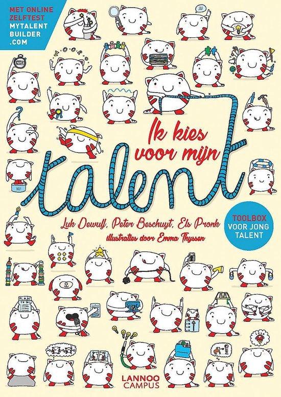 Boek cover Ik kies voor mijn talent van Luk Dewulf (Paperback)