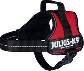 Julius k9 original power-harnas voor hond / tuig voor  voor labels rood Mini- S