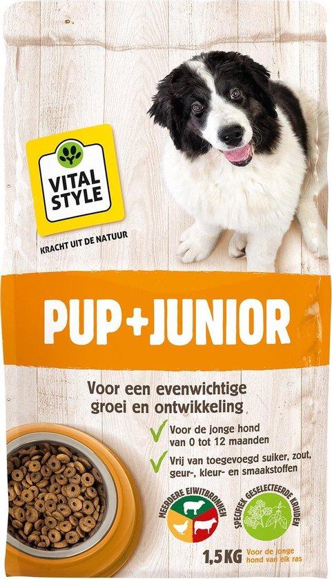 Ecostyle VitaalCompleet Puppy & Junior Hondenvoer - 1.5 kg