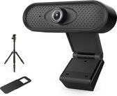 TechPro X10100 - HD Webcam met privacycover en tripod