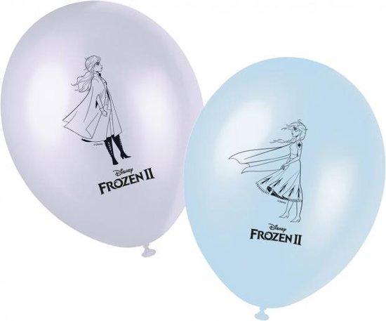 Frozen 2 Ballonnen, 8 stuks