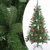 Casaria Kunstkerstboom 140cm met standaard