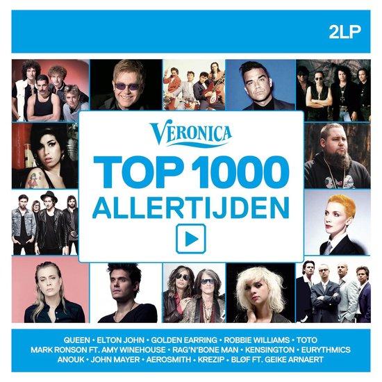 CD cover van Veronica Top 1000 Allertijden (2020) van Radio Veronica