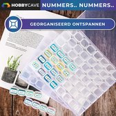 Hobbycave® Diamond Painting Opbergdoos - 56 Vakjes - Diamond Painting Accesoires - Volwassenen