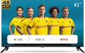 CHiQ U43H7L - 43 inch UHD 4K LED Smart TV  - WiFi - Frameless - Dolby Audio