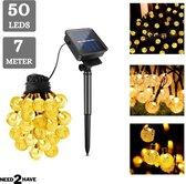 Need2Have Solar Tuinverlichting - Lichtsnoer Buiten - 50LED - 7 Meter