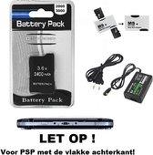 PSP 2000 / 3000 STARTSET 1x batterij + oplader + kaart adapter
