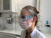 Spatmasker Universeel, Herbruikbaar & Afwasbaar Gezichtsmasker | Beschermkap voor gezicht | Spatscherm | Face Shield | Spatkap | Gelaatscherm | gezichtscherm