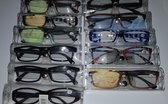TeleBeni Leesbril Sterkte +1,50 met etui en brillendoekje