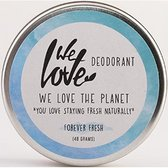 We Love The Planet creme deodorant - Forever Fresh