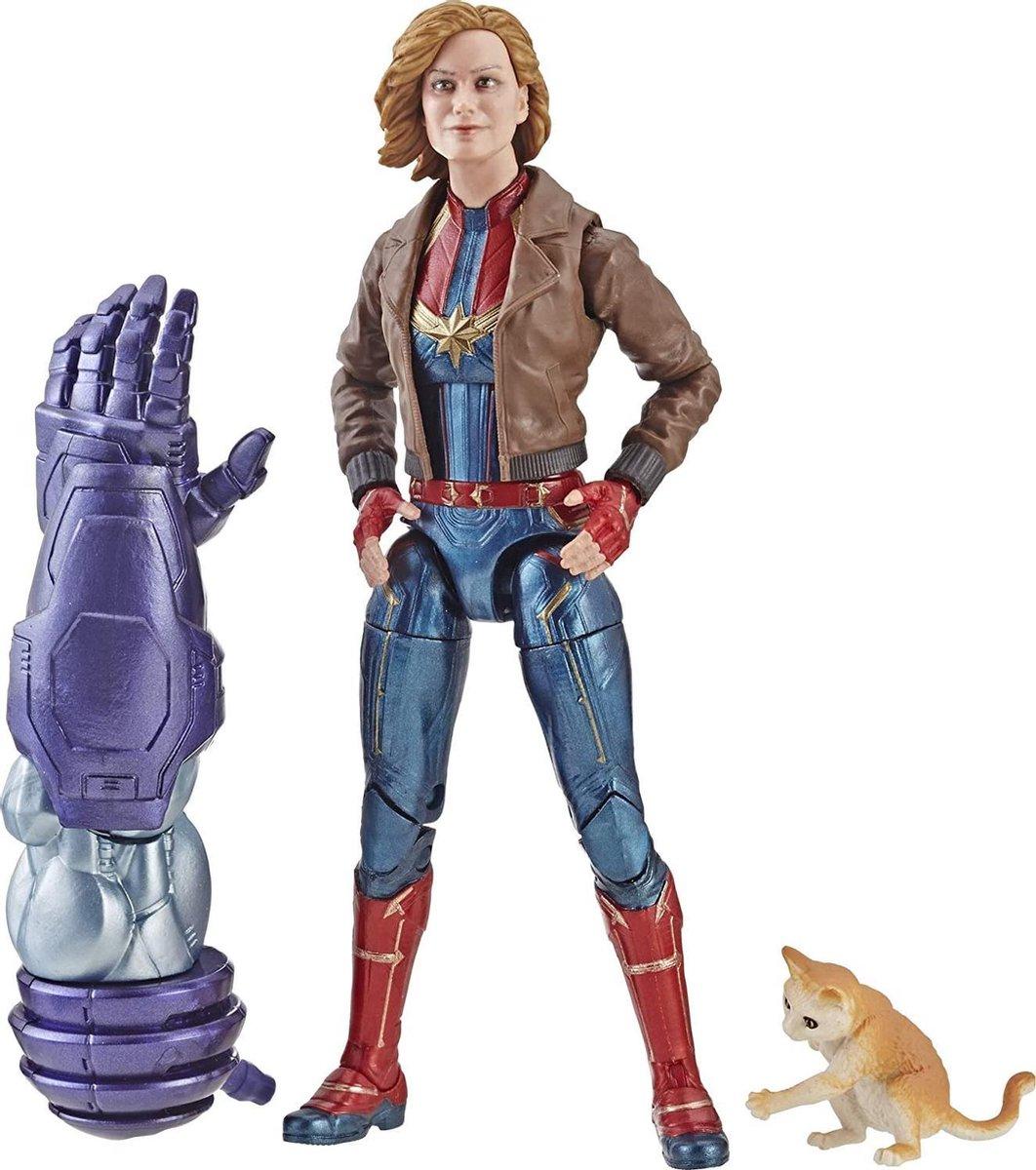Captain Marvel 15 cm Legends Series - Beeldje voor verzamelaars, kinderen en fans