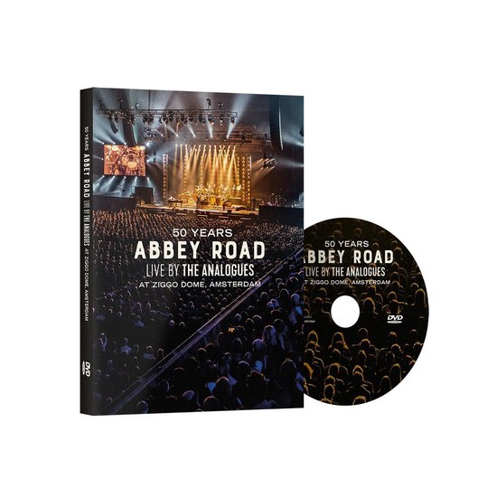 CD cover van The Analogues - 50 Years Abbey Road live at Ziggo Dome van The Analogues