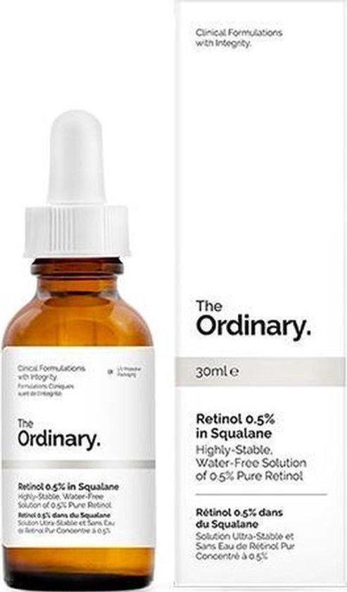 The Ordinary™ Retinol 0.5% in Squalane Gezichtsverzorging - Gezichtsserum - Retinol - Collageen - A