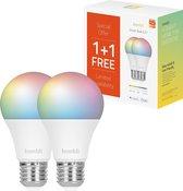 Hombli Slimme verlichting - (9W) RGB + CCT - Promopack 1+1