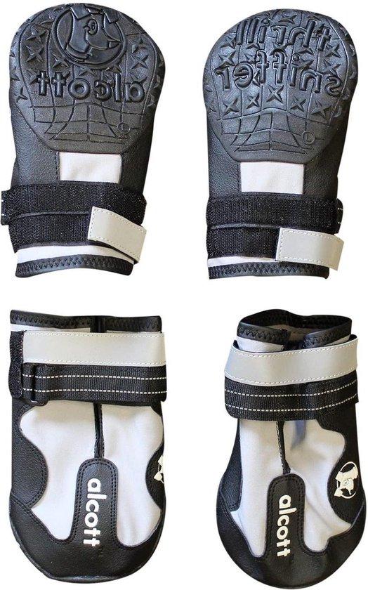 Alcott Explorer Hondenschoenen - Grijs/zwart - L
