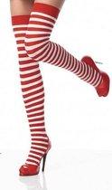 Gestreepte sokken / hoge kousen - 100% Katoen (geen polyester)