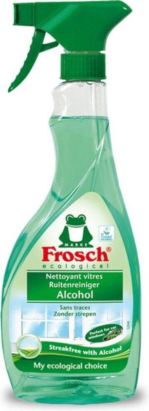 8x Frosch Ruitenreiniger Spray met Alcohol 500 ml