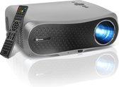 Lumora – Luxe Wifi Beamer – Projector - 5500 Lumen – Full HD – Bluetooth – Ingebouwde Entertainment Apps - Inclusief Kabels – Afstandsbediening – Beamer