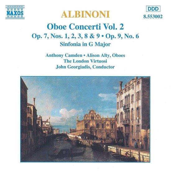 Albinoni: Oboe Concerti Vol 2 / Camden, Georgiadis, The London Virtuosi