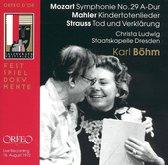 Ludwig Staatskapelle Dresden / Boh - Mozart: Sy 29 / Mahler: Kindertoten