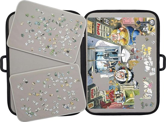 Jumbo Portapuzzle Deluxe - 1000 Stukjes - Jumbo